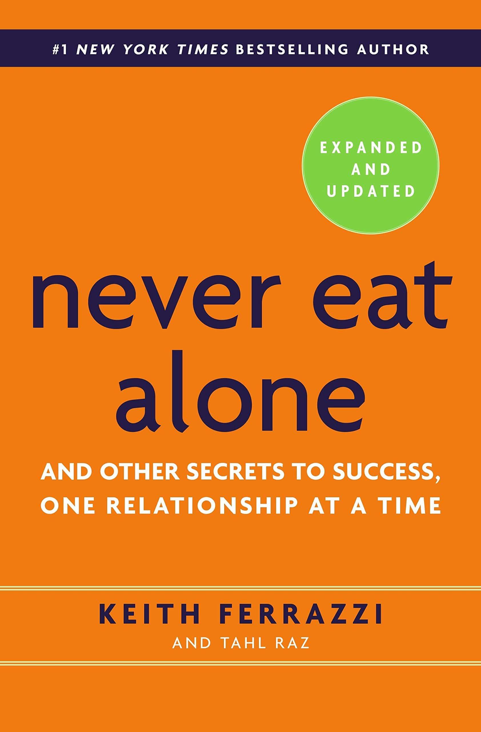 consultant indépendant never eat alone